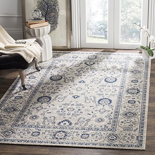 Safavieh Patina Light Grey/ Ivory Rug (6'7 x 9')