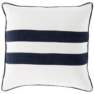Kelty 18-inch Stripe Feather Down or Poly Throw Pillow