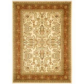 Safavieh Lyndhurst Traditional Oriental Ivory/ Rust Rug (12' x 18')