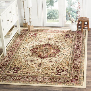 Safavieh Lyndhurst Traditional Oriental Ivory/ Red Rug (11' x 15')