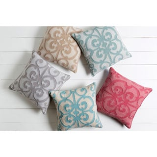 Decorative Ingraham Down or Polyester Filled Pillow 18-inch
