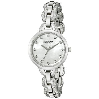 Bulova Women's 96L203 Stainless Steel Quartz Watch