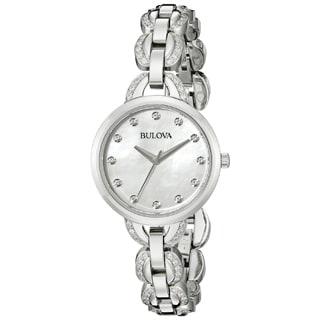 Bulova Women's 96L203 Stainless Steel Quartz Watch