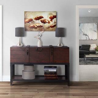 Trueman Vintage Walnut Trunk-style Entryway Table|https://ak1.ostkcdn.com/images/products/P17107446ma.jpg?impolicy=medium