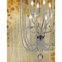 Avery Home Lighting Serenade 8-light Chrome Pendant