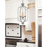Avery Home Lighting Cardinal 3-light Matte Opal Pendant