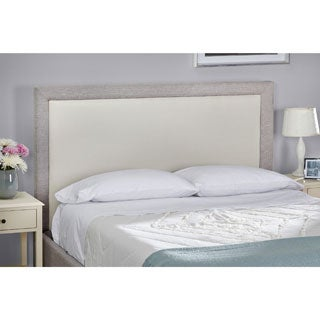 Simple Living Eirene Upholstered Queen Headboard