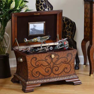 Life Chest Legacy Warm Honey Finish Inlay Design Hope Chest