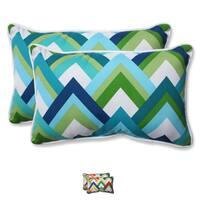 Pillow Perfect Outdoor Resort Rectangular Throw Pillow (Set of 2)