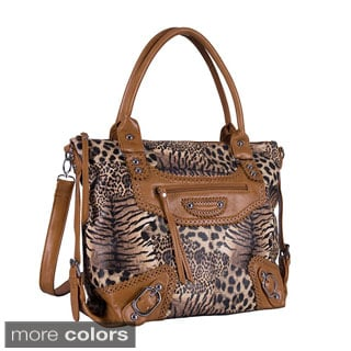 Mellow World Safari Tote Handbag