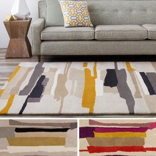 Hand-Tufted Johnny Stripe Indoor Rug (9' x 12')