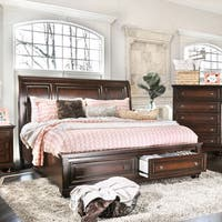 Gracewood Hollow Pratchett Cherry Platform Bed