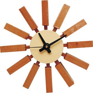 Mid Century Modern Spoke Clock