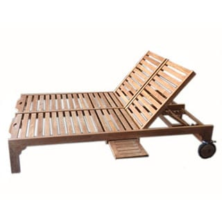 D-Art Double Wheel Lounger Chaise