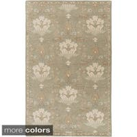 Copper Grove Kavir Hand-Tufted Floral Wool Area Rug