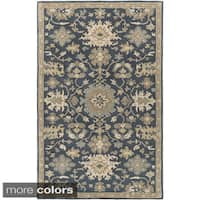Copper Grove Kavir Hand-Tufted Floral Wool Area Rug - 5' x 8'