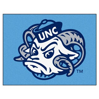 Fanmats University of North Carolina Chapel Hill Blue Nylon Allstar Rug (2'8 x 3'8)