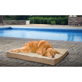 furhaven deluxe indoor outdoor orthopedic pet bed with removable cover