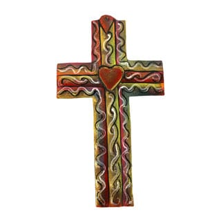 Colored Metal Cross Medium
