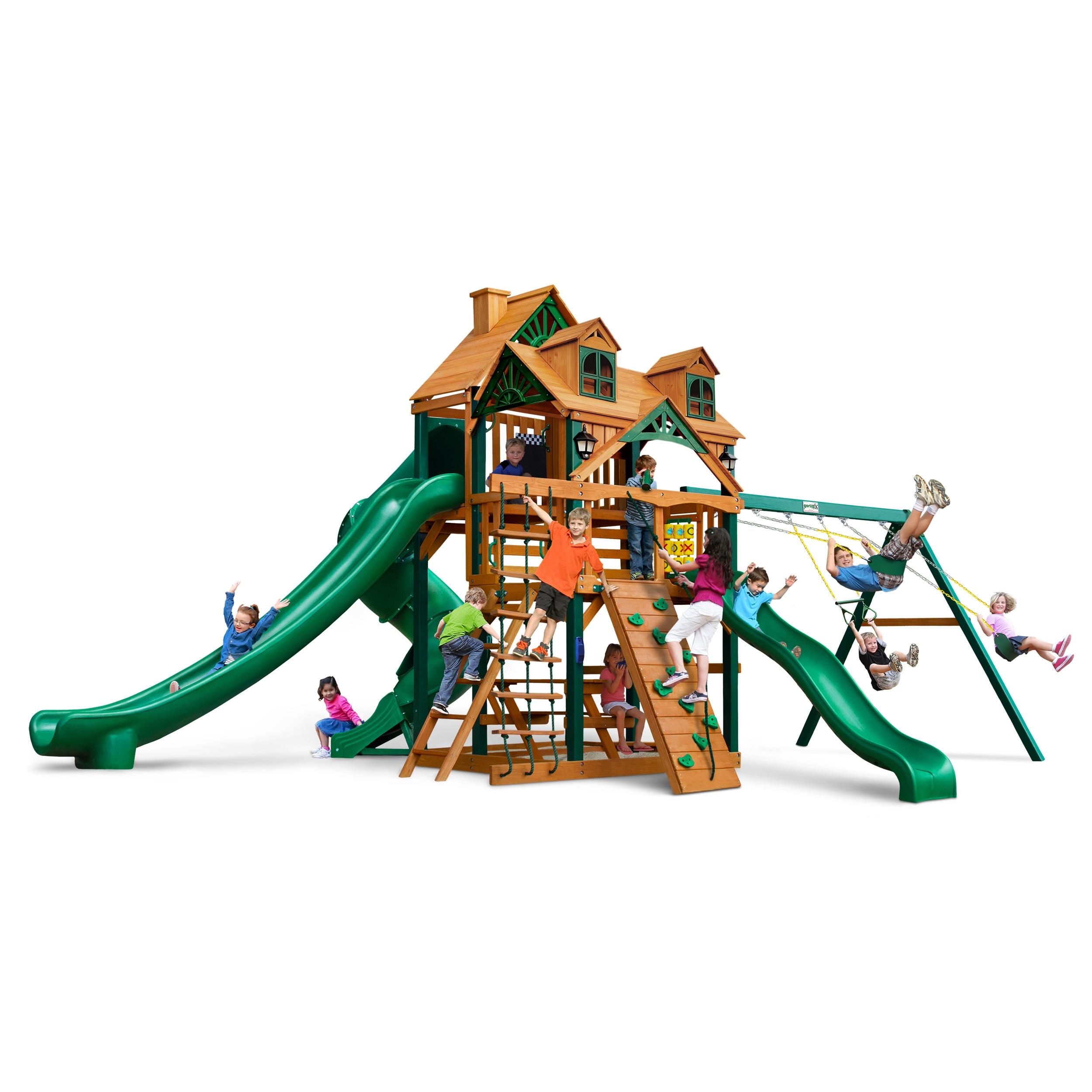 Gorilla Playsets Malibu Deluxe II Swing Set