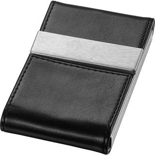 Visol Mayfair Black Business Card Case