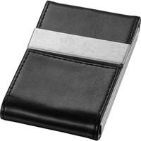 Castello torino series leather blackbrown business card holder visol mayfair black business card case colourmoves