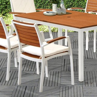 Harper Blvd Encore Outdoor Easy Chairs 2pc Set - Soft White