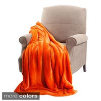 BOON Plain Faux Fur Throw