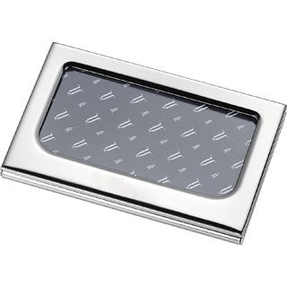Visol Picture Perfect Photo Silverplated Business Card Case