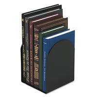Universal Magnetic Black Bookends (Pack of 3)