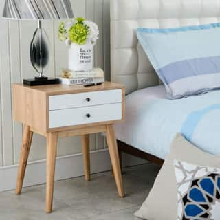 Blue Nightstands & Bedside Tables For Less | Overstock.com