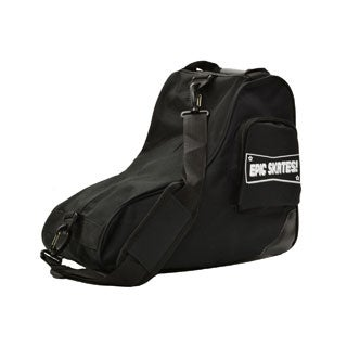 EPIC Black Premium Quad Roller Derby Speed Skate Bag