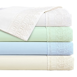 4-piece Ultra-soft Venician Lace Sheet Set