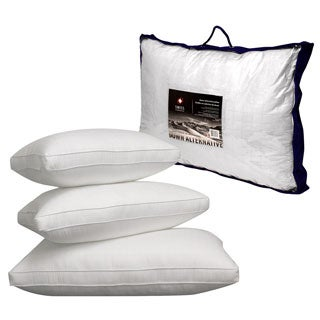 Swiss Comforts 300 TC Soft Cotton Down Alternative Sleeping Bed Pillow with 2-inch Gusset