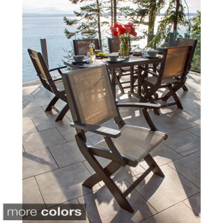 POLYWOOD Coastal Folding Chair