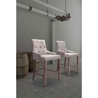 Burbank Beige Counter Chair