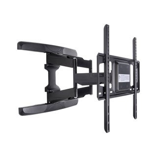 Loctek TV Wall Mount with 42 to 60-inch Mounting Bracket, and Full Motion, Articulating Arm