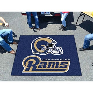 Fanmats Machine-Made St Louis Rams Blue Nylon Tailgater Mat (5' x 6')