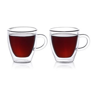 Epar 2 oz. Double Wall Espresso Cups (Set of 4)