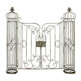 Metal 67-inch Garden Gate