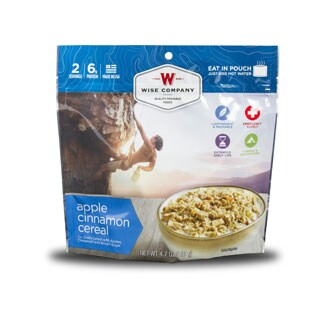 Wise Company Outdoor Apple Cinnamon Cereal (6 pouches)