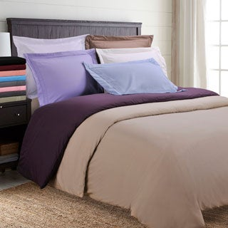 Superior Wrinkle Resistant Embroidered Regal 3-piece Duvet Cover Set