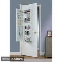 Maison Rouge Carroll Over the Door Combination Jewelry and Makeup Armoire