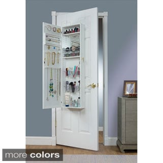 Charmant Maison Rouge Carroll Over The Door Combination Jewelry And Makeup Armoire