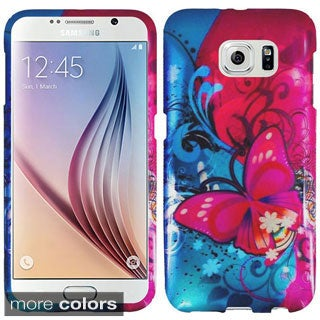 Insten Hard Snap-on Rubberized Matte Phone Case for Samsung Galaxy S6