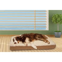 FurHaven Ultra Plush Deluxe Memory Top Pet Bed
