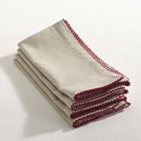 Crochet Scalloped Design Table Linens (set of 4)