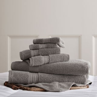 Amrapur Overseas 650 GSM Luxury Spa Collection 100-percent Cotton 6-piece Towel Set