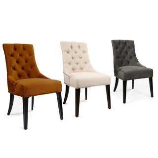 European Style Tufted Side Chair (Set of 2)
