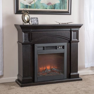 Christopher Knight Home Lucasville Electric Fireplace Mantel with Remote Control